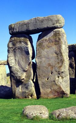 Sarsen stones make a pleasing 'bong' sound