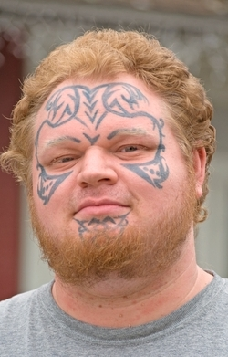 Face tattoos remain completely fucking mental