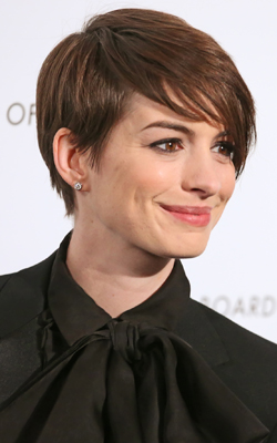 Anne Hathaway is tipped for Best Performance of a Susan Boyle Song