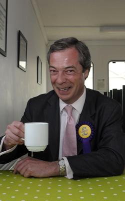 Nigel Farage is a formidable dribbling nutcase