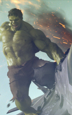 Follow a boundary dispute, Hulk throws a plane at Shula