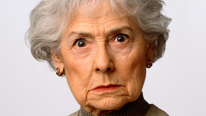 Grandmother Given Obscene Birthday Card