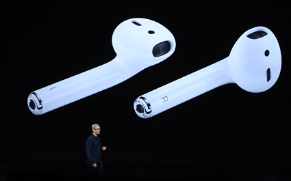 Apple reveals new AirPod headphones to be inserted anally