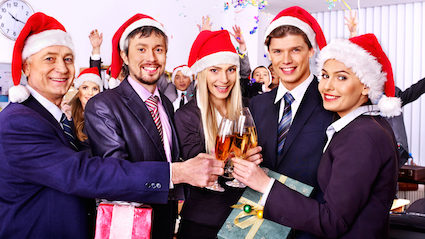 Office Christmas Party.Roles Assigned For Office Christmas Party