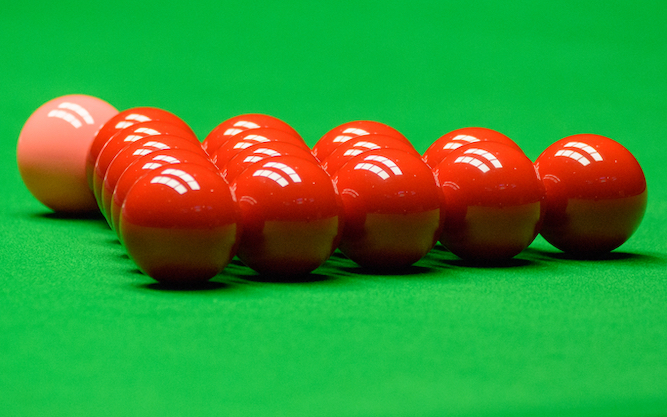 Why watching snooker all day is better than a spa weekend