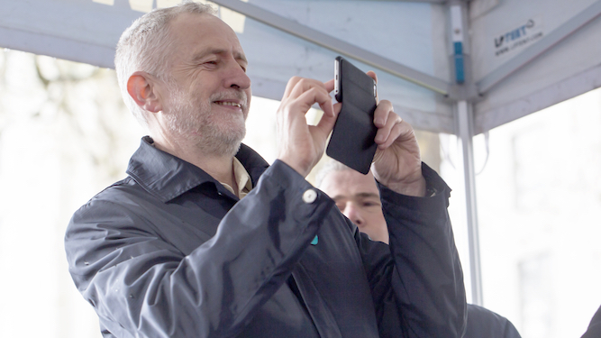 Corbyn ruins old folks' coach trip to Whitby