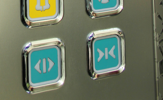 'Close doors' button on lift does f*ck all, admits engineer