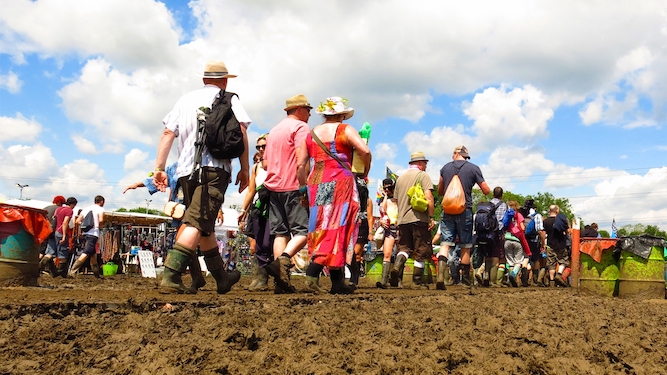 The middle-aged guide to Glastonbury