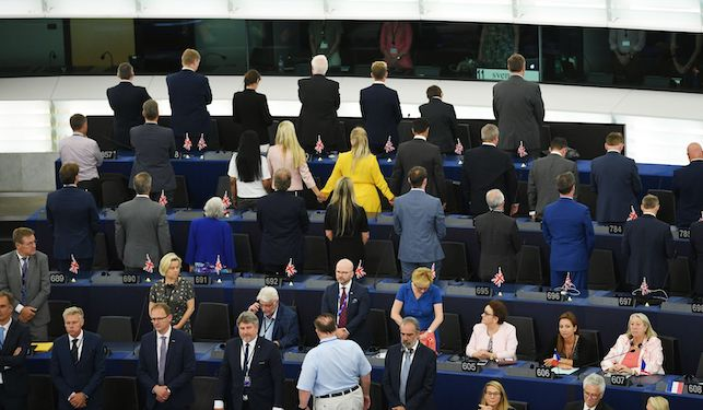 How to be an embarrassing little b*llend at work like a Brexit MEP