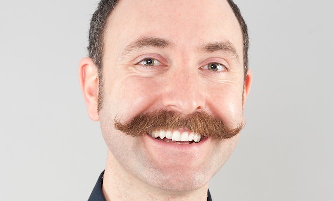 Man grows handlebar moustache to rule himself out of gene pool
