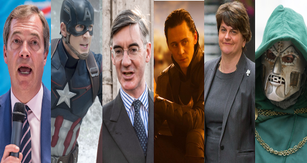 Which Marvel Superheroes are Britain's politicians?