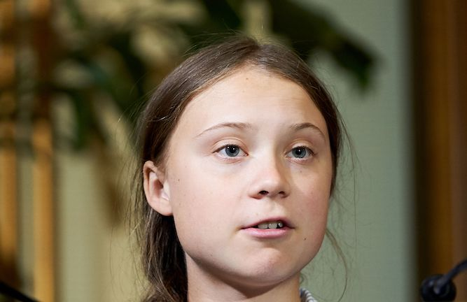Greta Thunberg busted after teacher sees her on TV