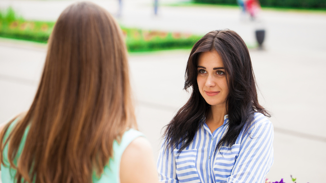 Your guide to getting a friend who overshares to shut the f**k up
