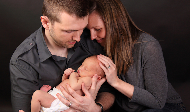 Shattered new parents find energy to post entire birth album