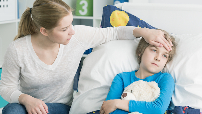 Parents try to work out which a*sehole kid started sick bug