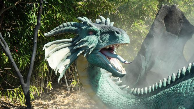 John Lewis Christmas advert stars dragon who burns his own d*ck off