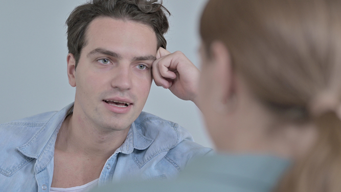 Man 'weighing in' on debate about period poverty advised to get to f**k