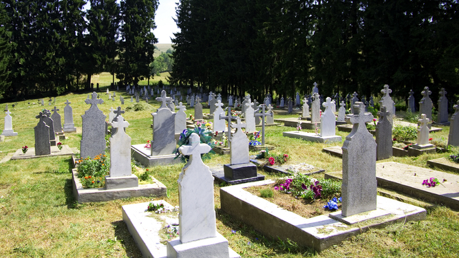 Copy and paste inventor's gravestone has unwanted formatting