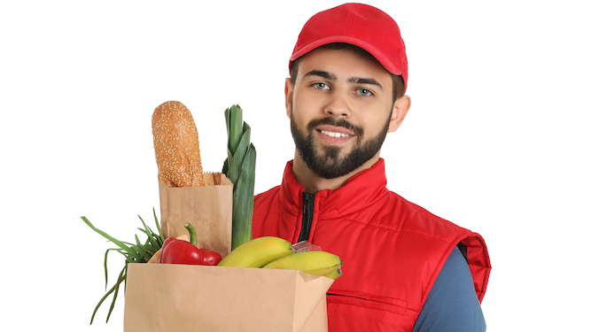 The middle class guide to talking to your supermarket delivery man