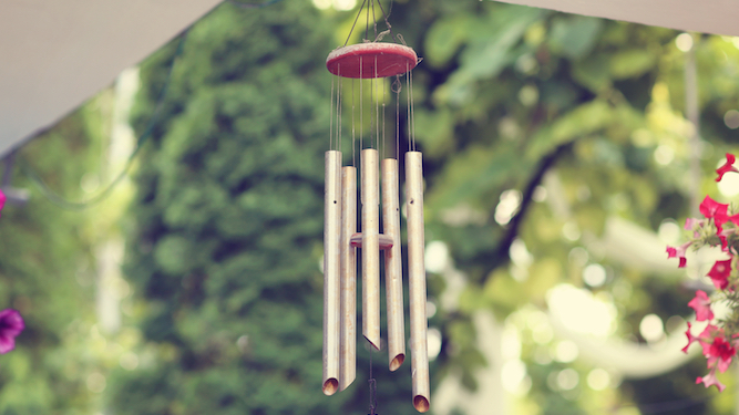 Wind chimes in the garden and other ways to really f**k off your neighbours